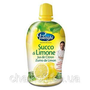 Сок лимона Succo di Limone Polengi 200мл (Италия)