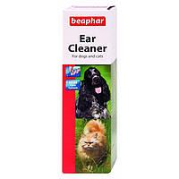 Beaphar Ear Cleaner средство для чистки ушей собак и кошек 50 мл (12560)