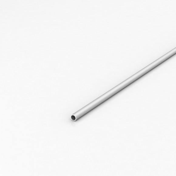 Алюмінієва труба кругла 8мм товщиною стінки 1мм анодована