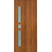 Дверь межкомнатная ОМиС Комфорт 80 см ольха европейская со стеклом