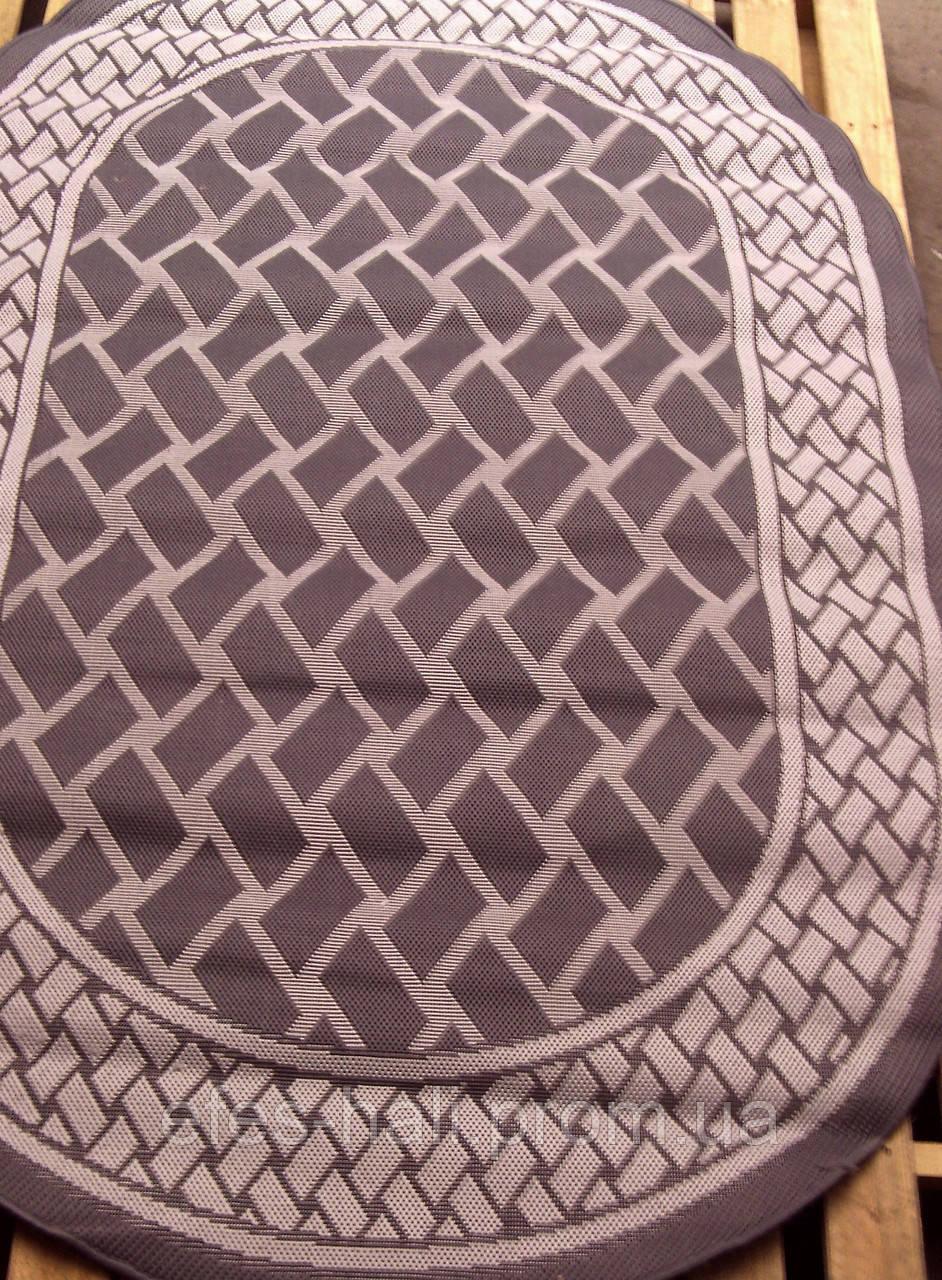 Безворсовый кухонный ковер Рогожка Sisal 6321