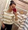 Очаровательный свитер-тренд текущего сезона . Размер единый 42-44. Цвета разные. (157), фото 7