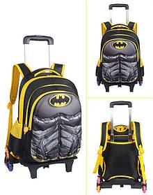 Супер рюкзак тележка в виде Супермен Паук бетмен