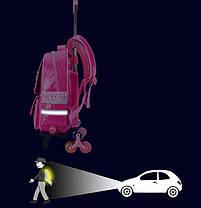 Детский рюкзак-тележка на колесах для девочки, фото 3