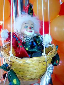 Клоун на воздушном шаре