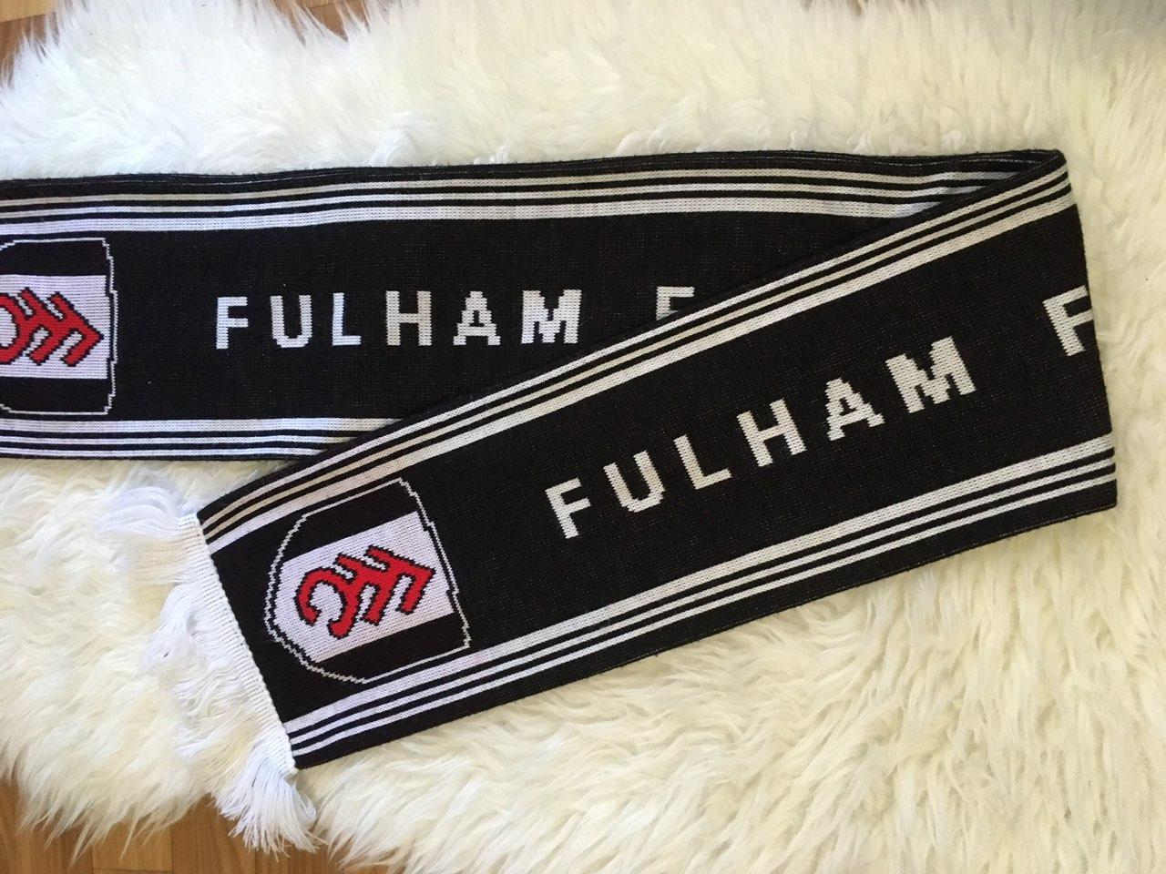 Футбольный шарф Фулхэм Fulham FC
