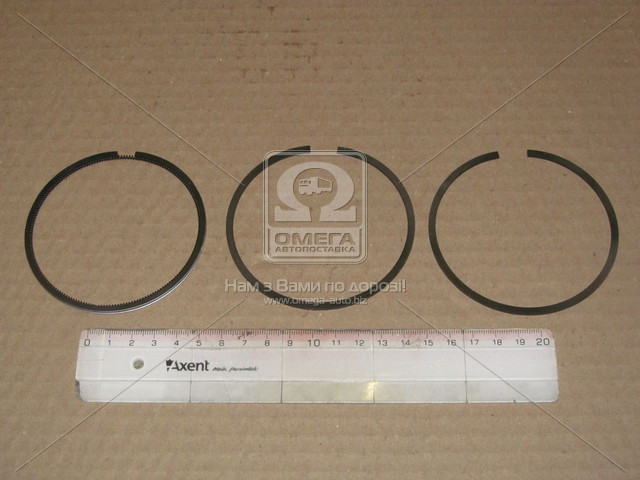 Кольца поршневые 82.00mm (0,50) 1,50x1,50x3 KNORR, IVECO EUROCargo/Tech/Star/Trakker (пр-во VADEN), 822 202