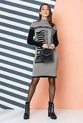 Женское трикотажное платье - LOOK