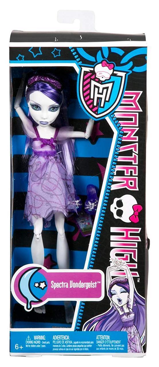 Кукла Monster High Спектра Вондергейст Смертельно УставшиеDead Tired Spectra Vondergeist