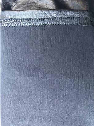 Лосины летние со змейкой цвет марсала ТМ CASTOM Арт.18113, фото 2