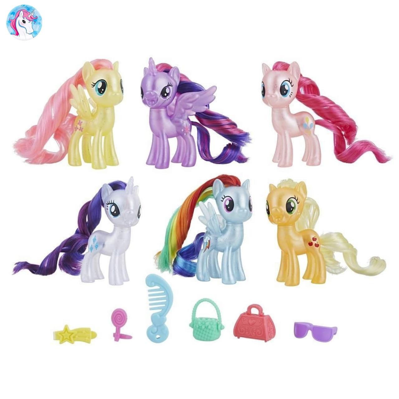 Набор Май Литл Пони из 6 фигурок пони My Little Pony 6 Celebration Set -  Детские 6b136cfa79c