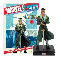 Мініатюрна фігура Герої Marvel 3D №19 Локі (Centauria) масштаб 1:16