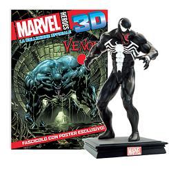 Мініатюрна фігура Герої Marvel 3D №20 Веном (Centauria) масштаб 1:16