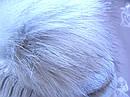 Детский зимний серый комплект: шапка и снуд для мальчика на 1-3 года, фото 4