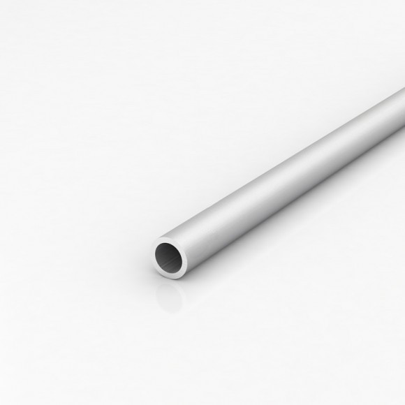 Алюмінієва труба кругла 22мм товщиною стінки 3мм анодована