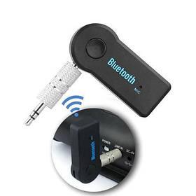 Беспроводной аудио блютуз приёмник для автомобиля   модулятор со встроенным микрофоном BT35A08 RECEIVER