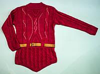 В'язаний светр для дівчинки на 11-12 років, фото 1