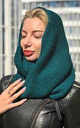 Шапка-шарф снуд