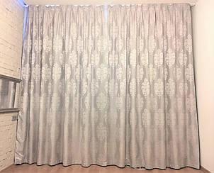 Готовые шторы на подкладе (блекуат).
