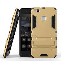 Чехол Huawei P9 Lite / G9 Lite Hybrid Armored Case золотой