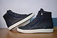 Мужские демисезонные ботинки на байке .