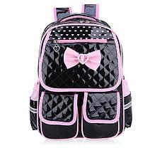 Шикарный лакированный школьный рюкзак для девочек, фото 2