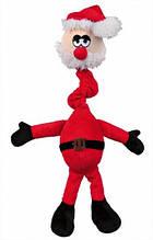 Игрушка с длинной шеей, плюшевая 40см, музыкальная (Рождество), трикси 92325, 1шт.