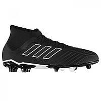 Бутсы adidas Predator 18.2 FG Black Black - Оригинал a0e439950af77