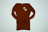 Вязаный свитерок для девочки на 10-11 лет, фото 1