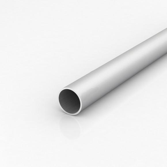 Алюмінієва труба кругла 35мм товщиною стінки 2мм без покриття