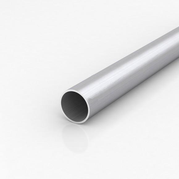 Алюмінієва труба кругла 40мм товщиною стінки 1мм анодована
