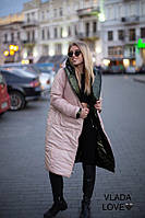 Тренд сезона- двустороннее женское теплое пальто! Норма и баталы в расцветках