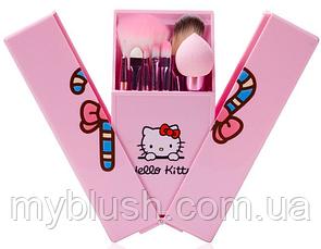 Набор кистей Hello Kitty Brochas De Maquillaje (8 штук)