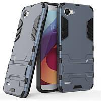 Чехол LG Q6 / Q6a / Q6 Prime / M700N / M700A Hybrid Armored Case темно-синий