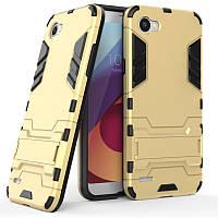 Чехол LG Q6 / Q6a / Q6 Prime / M700N / M700A Hybrid Armored Case золотой