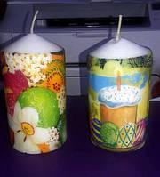 Свечи декоративные пасхальные
