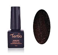 Гель-лак Tertio 7 мл № 094 темно-коричневый с шиммером