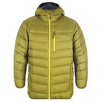 8a919ba809bd Мужская пуховая куртка Columbia HELLFIRE 650 TURBODOWN™ HOODED JACKET  болотная 1780721-390