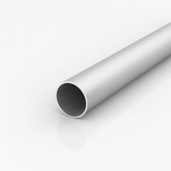 Алюмінієва труба кругла 45мм товщиною стінки 2мм без покриття
