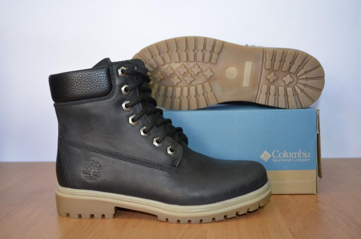 Зимние кожаные ботинки Timberland.Копия. - Интернет- магазин