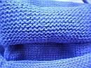 Детский зимний синий-2 комплект: шапка и снуд для мальчика на 1-3 года, фото 3