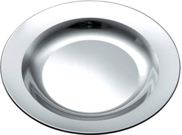 Тарелка нержавеющая круглая V 550 мл Ø 220 мм (шт), фото 2