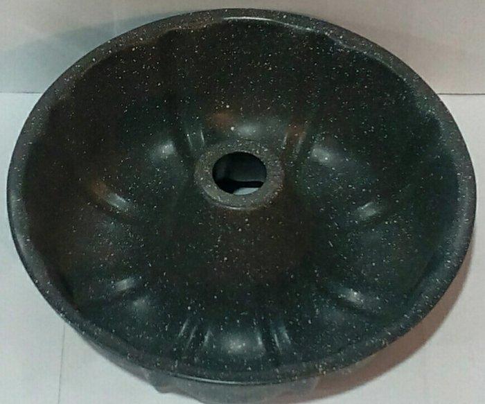 Форма антипригарная кекс с втулкой с гранитовым напылением Ø 250 мм;85 мм (шт)