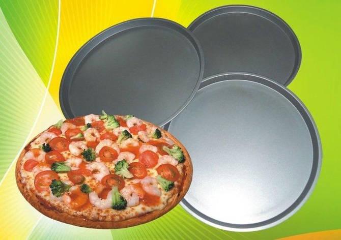 Форма антипригарная круглая для пиццы Ø 310*290*260 мм;H 20 мм(набор 3 шт), фото 2