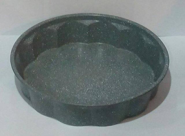 Форма антипригарная круглая с гранитовым напылением Ø 275 мм;H 60 мм (шт), фото 2