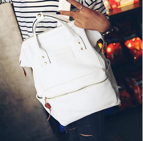 Большой каркасный рюкзак-сумка Blosson