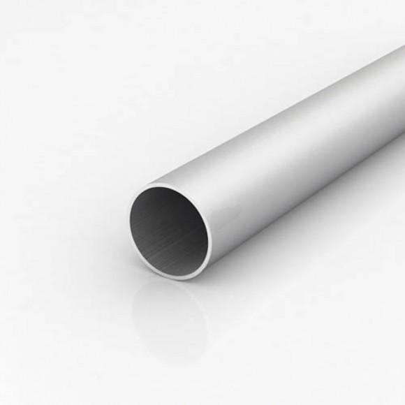 Алюмінієва труба кругла 55мм товщиною стінки 2,5мм без покриття