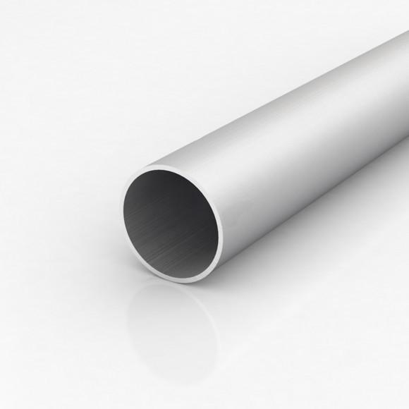 Алюмінієва труба кругла 60мм товщиною стінки 2мм анодована