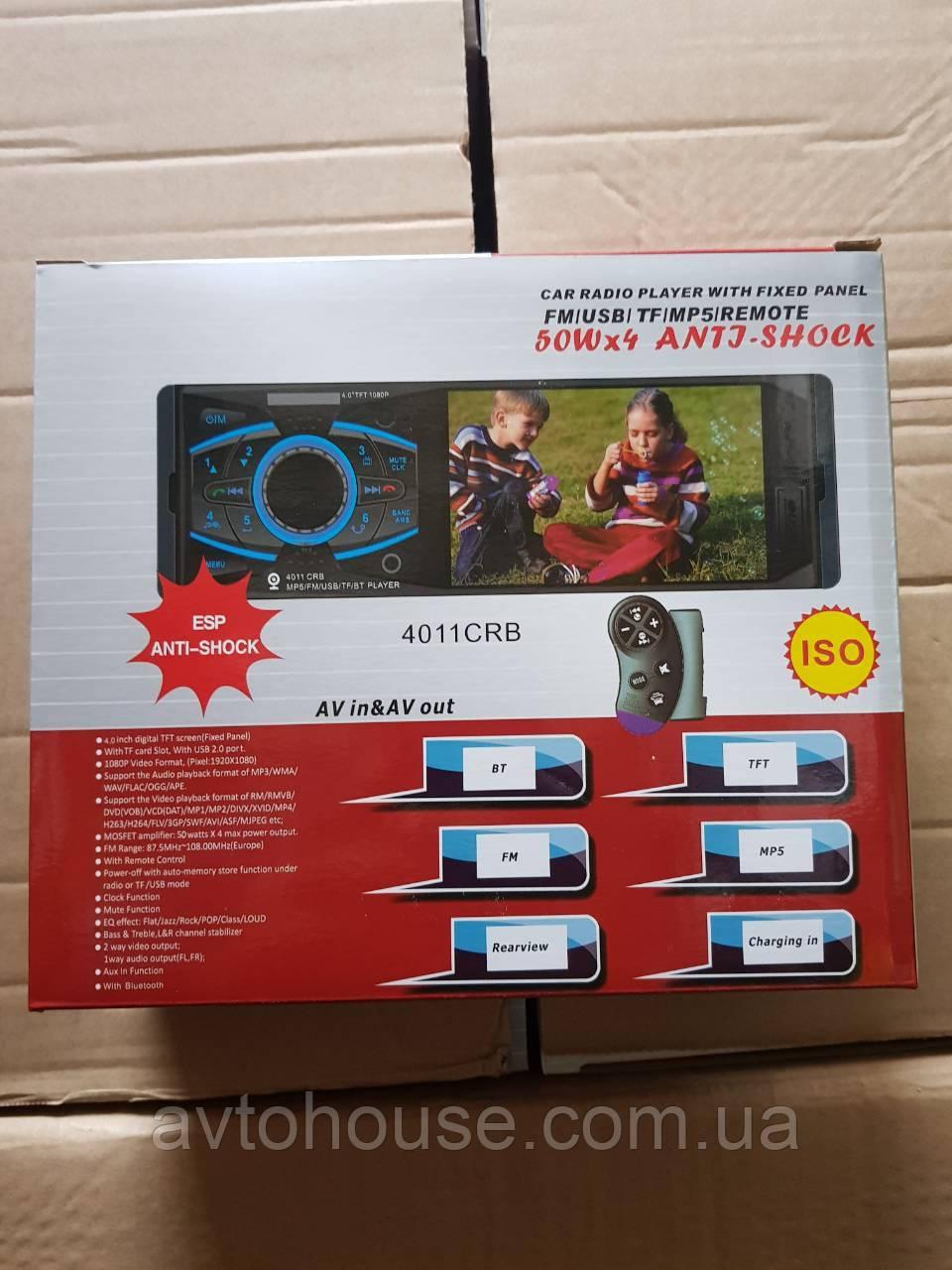 Автомагнитола с экраном  4011 CRB