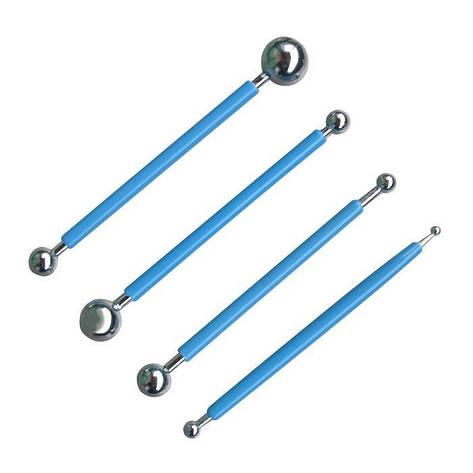 Стеки нержавеющие для моделирования шариков (набор 4 шт), фото 2